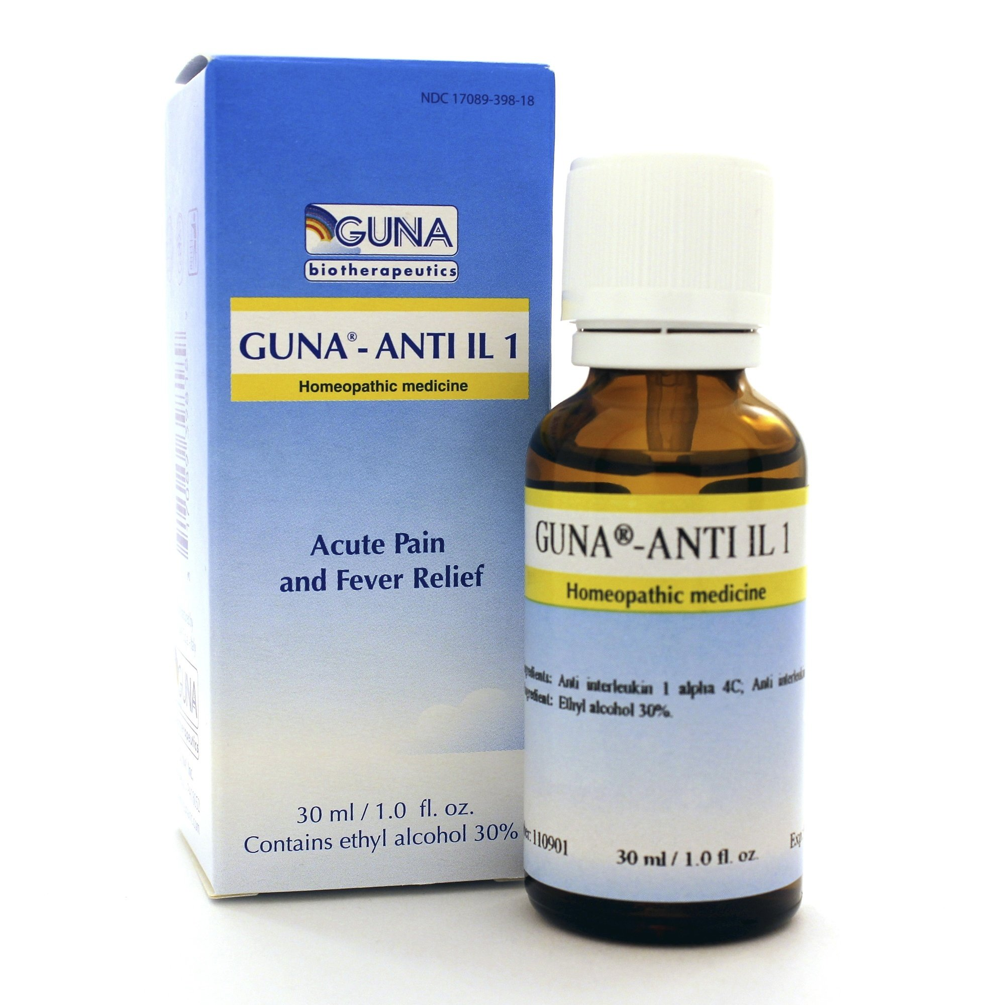 Guna Anti-Interleukin 1 30 Milliliters - Pack of 2
