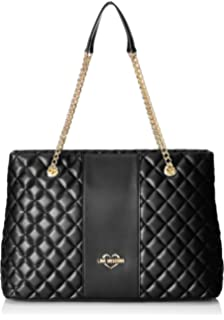 Moschino Love Moschino Women s Quilted Logo Shopper Bag One Size ... 26252899f116d