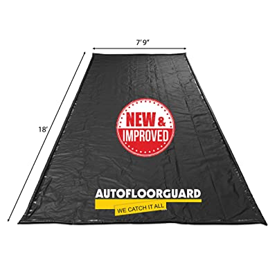 "AutoFloorGuard AFG7918 Black 7'9""x18' AFG MidSize Containment Mat: Automotive"