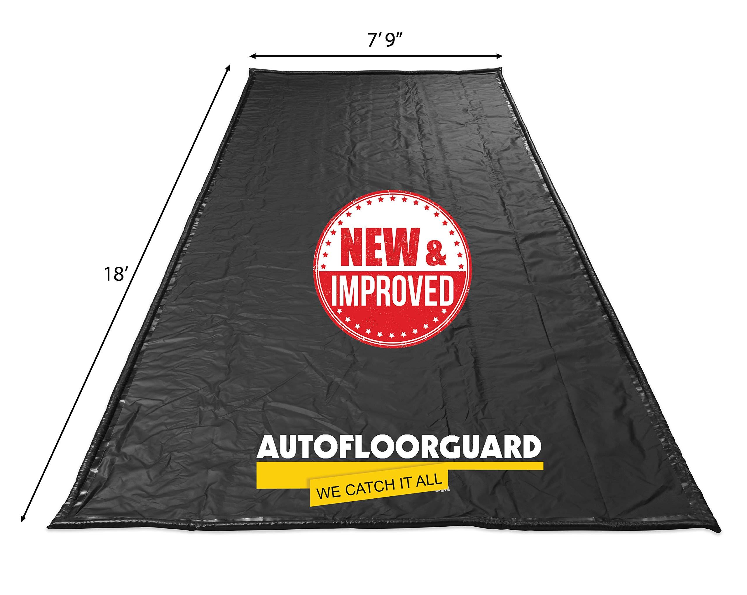 AutoFloorGuard AFGP-7918 Black 7'9''x18' AFG MidSize Containment Mat