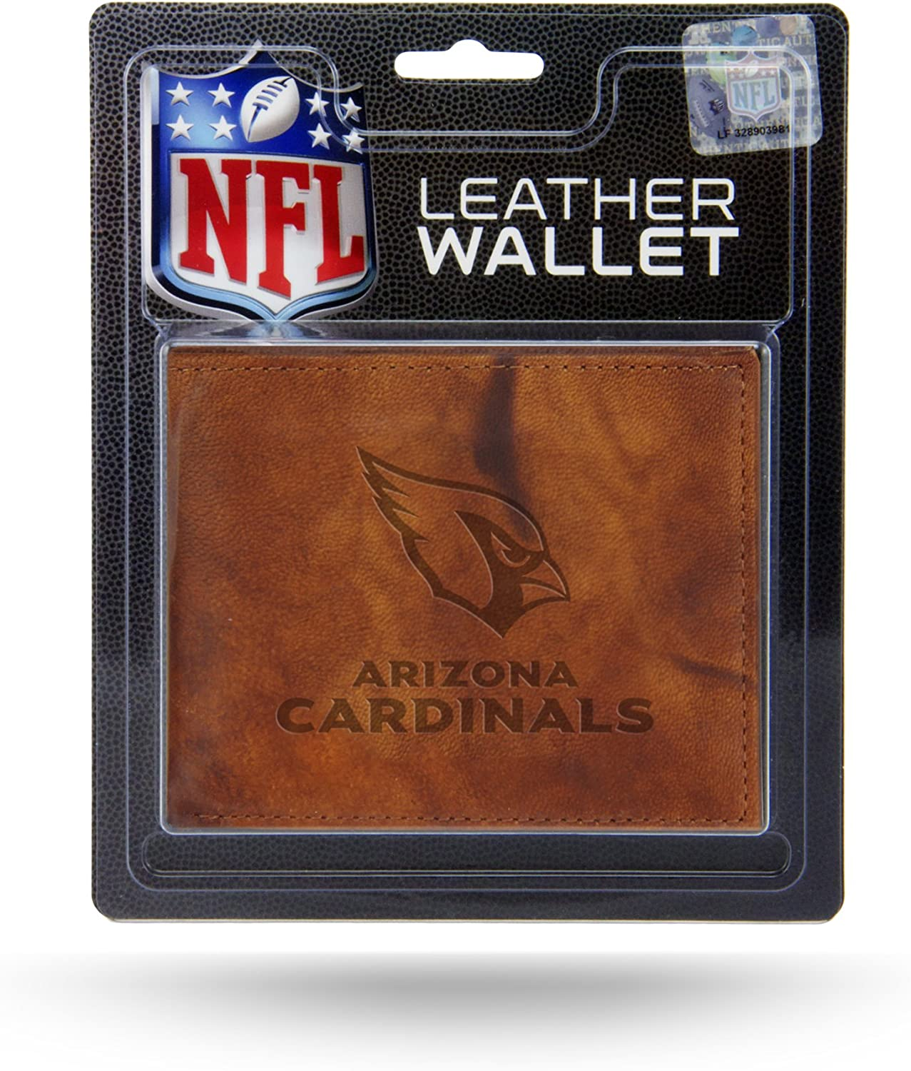 NFL Rico Industries  Laser Engraved Billfold Wallet Los Angeles Chargers