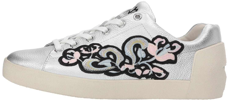 Ash Women's AS-Nak Bis Sneaker, Silver/Black Fashion B073JSX1BH Fashion Silver/Black Sneakers 1cc8d6