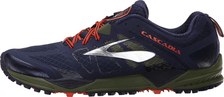 Brooks Cascadia 11 - Zapatillas de Entrenamiento Hombre, Azul (blau), 40 EU: Amazon.es: Zapatos y complementos