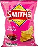 Smith's Crinkle Cut Salt and Vinegar Chips, 12 x 170 Grams