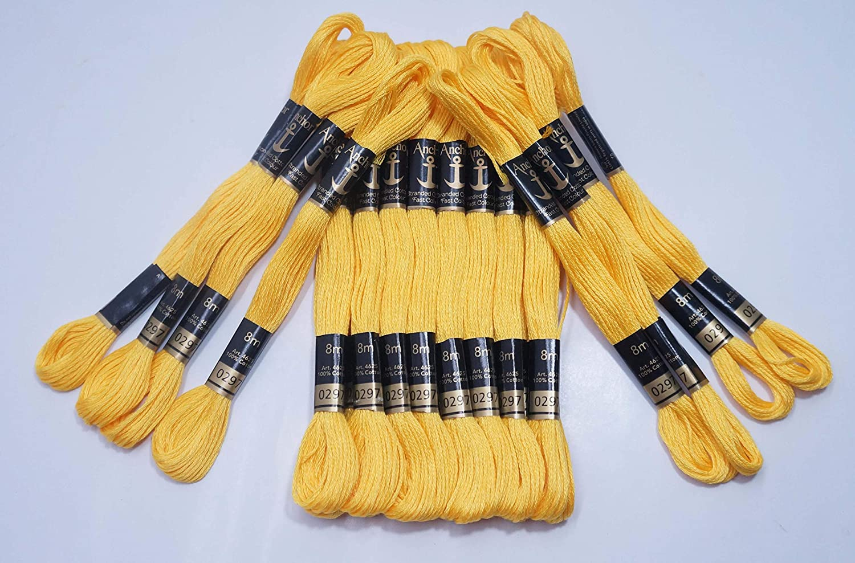 100 Anchor Cross Stitch Cotton Crochet Embroidery Thread Floss Skiens /& Deals.