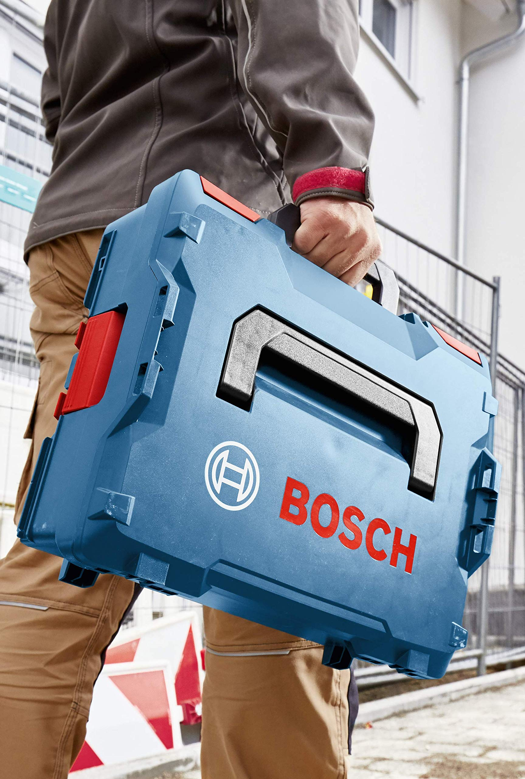 Bosch L-BOXX-1 4.5 In. x 14 In. x 17.5 In. Stackable Tool Storage Case by Bosch (Image #6)
