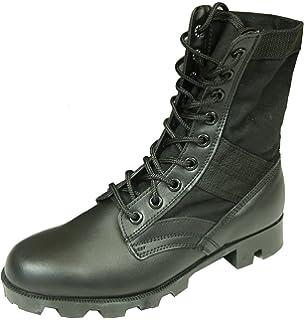 Mil-Tec - Zapatos de cordones para hombre negro negro, color negro, talla 47 EU