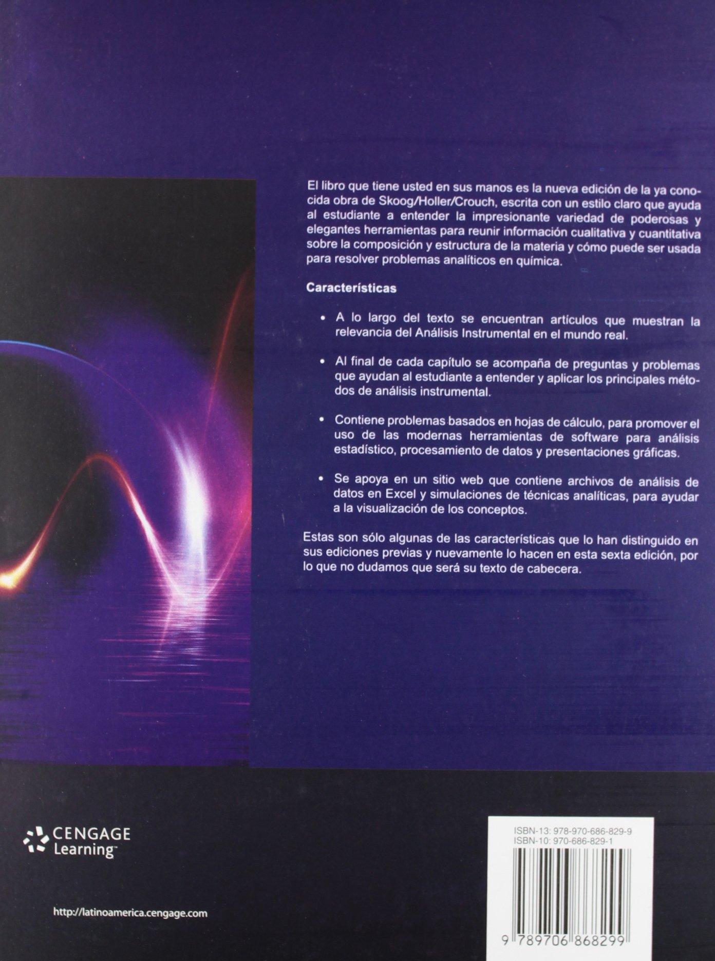 Principios de an lisis instrumental 5ta Edici n Douglas A. Skoog
