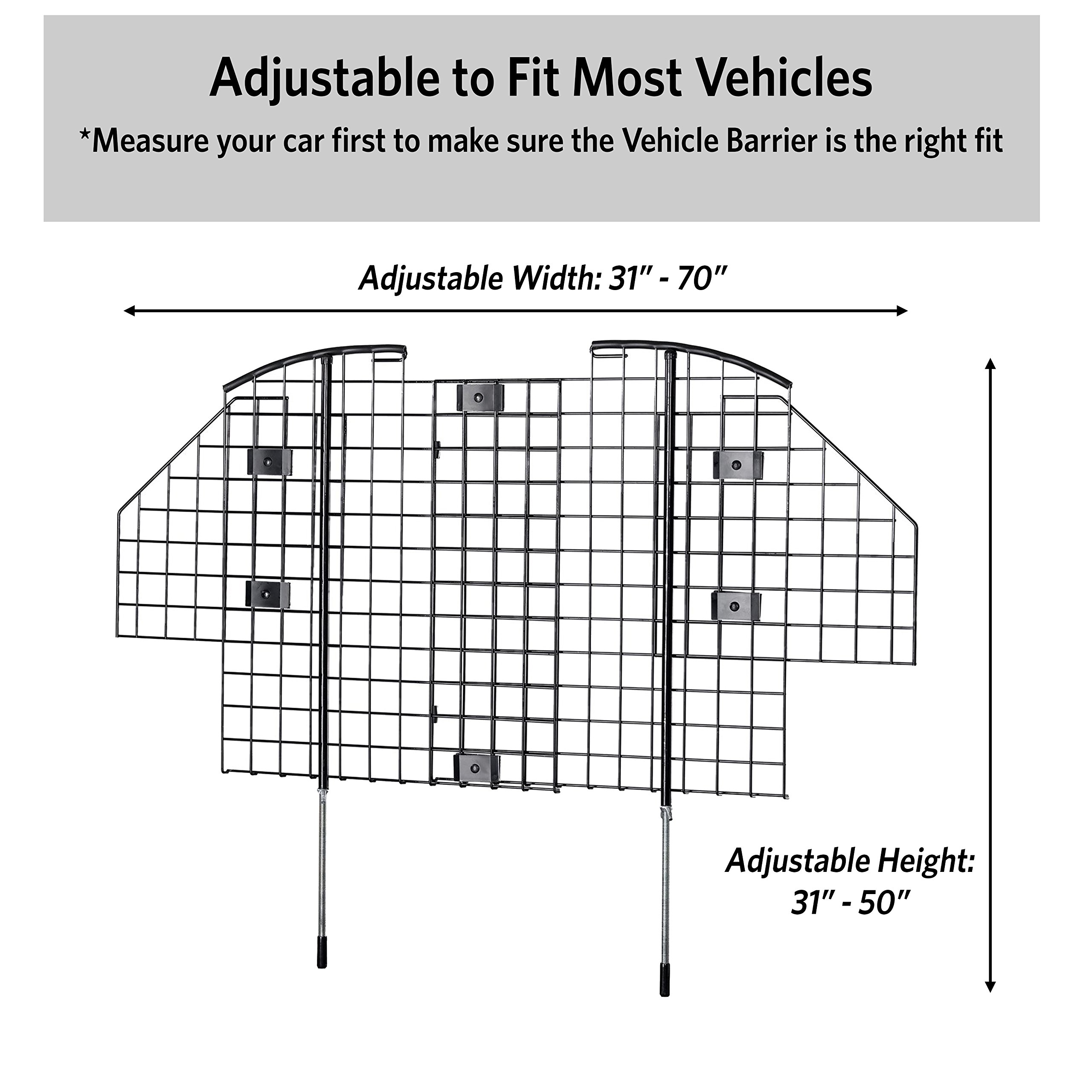 MidWest Pet Barrier Wire Mesh Car Barrier by MidWest Homes for Pets (Image #3)