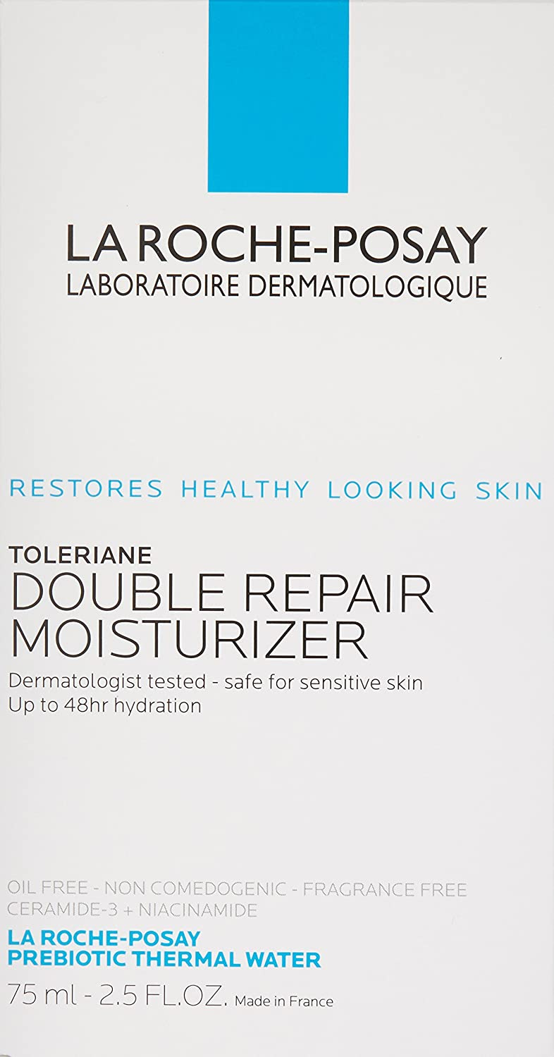 amazon com la roche posay toleriane double repair face