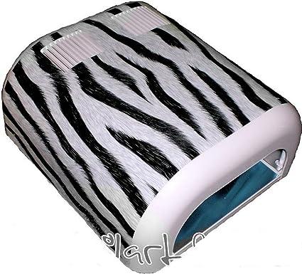 Decorativo, diseño de pantalla ~ ~ Zebra ~ ~ Para túnel de luz ultravioleta para