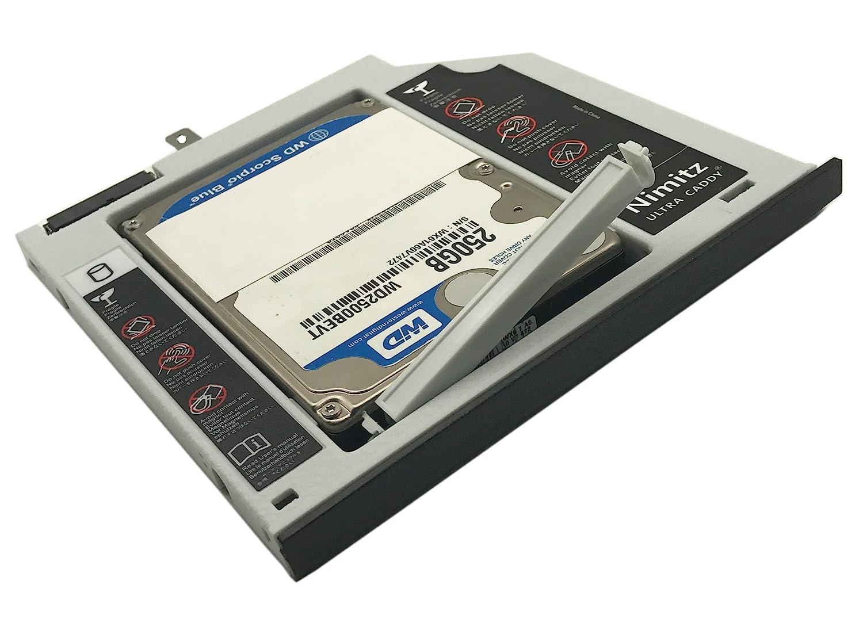 ULTRACADDY 2ª HDD SSD Disco Duro Caddy para ASUS X455 F455 X454 ...