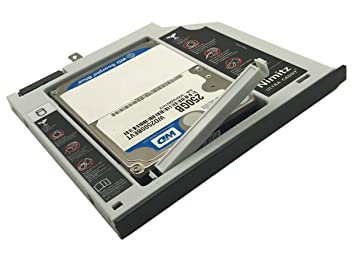 ULTRACADDY 2ª HDD SSD Disco Duro Caddy para ASUS X455 F455 X454 ...