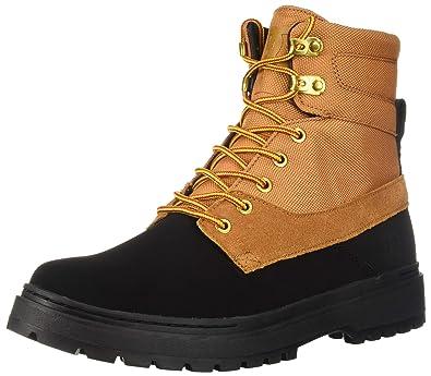 bcb41841dd69 Amazon.com: DC Shoes Mens Shoes Uncas Lace-Up Boots Adyb700023: Shoes