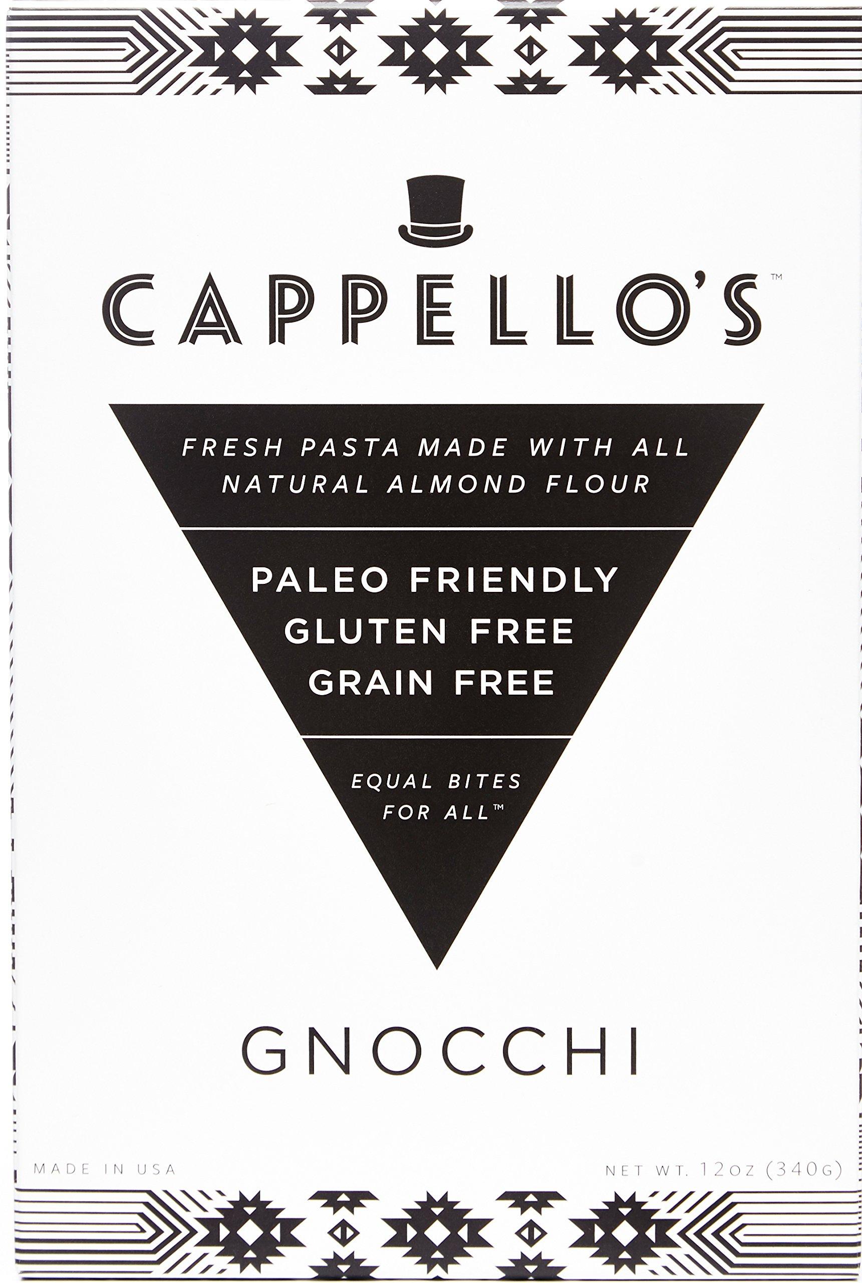 Cappello's Gluten-Free Gnocchi - 12 Ounces (Pack of 6)