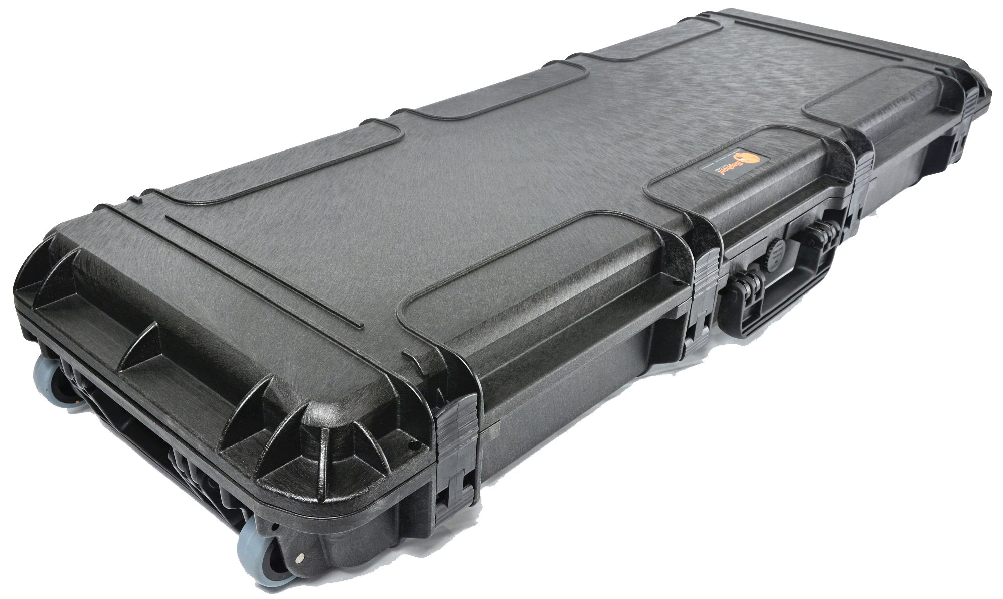Waterproof Rifle Hard Case Elephant Elite EL4305W 43'' With Pre-Cubed Foam and Wheels for Hunting Long Rifle Shootgun with Magazines, Accessories or Handgun, Watertight Hard Plastic case