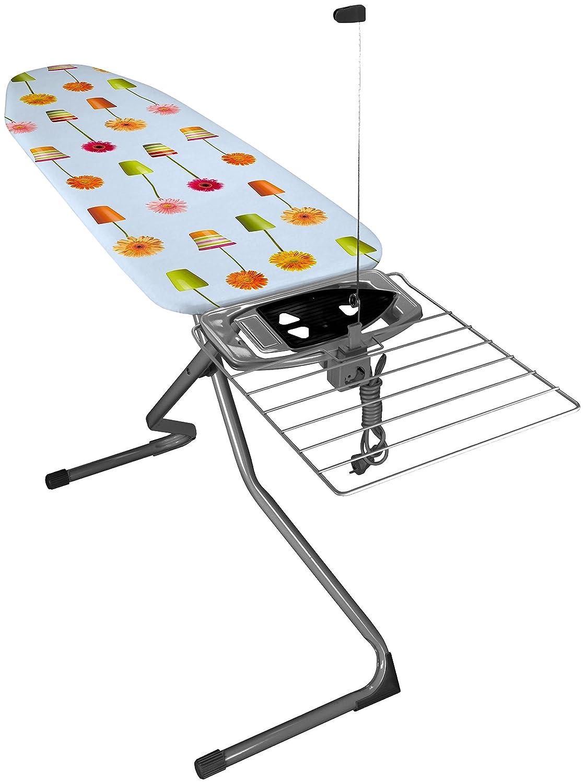 Eurogold 36542B Mono Table à Repasser Acier Blanc 163 x 48 x 8 cm