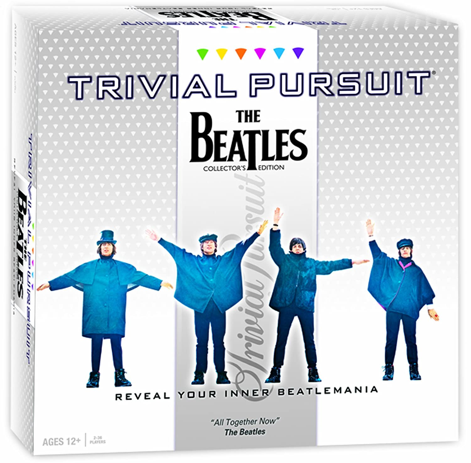 Trivial Pursuit Beatles Board Game Game Game 66a21c