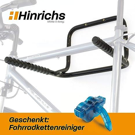 Hinrichs Soporte Bicicletas Pared - Portabicicletas de Pared ...