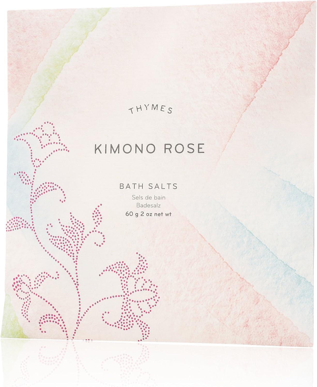 Thymes Bath Salt - 2 Oz - Kimono Rose