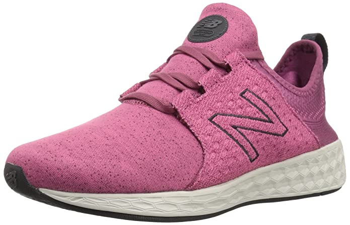 New Balance Fresh Foam Cruz Sport Pack Reflective Sneakers Laufschuhe Damen Lila (Dragon Fruit Sea Salt)