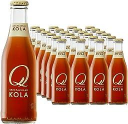 Q Drinks, Q Kola, Spectacular Kola, Premium Mixer, 6.7 Ounce Bottle (Pack of 24)