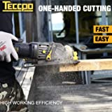 "TECCPO Circular Saw, 4 Amp 4-1/2"" 3500 RPM"