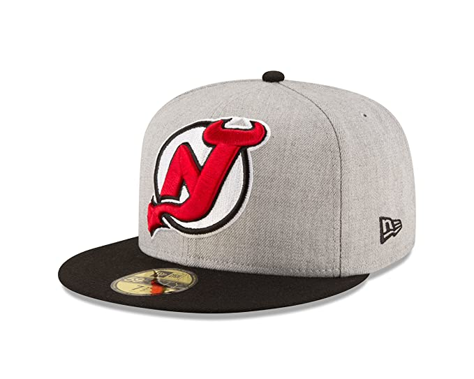 wholesale dealer b87c2 75488 Amazon.com   New Era NHL Heather Grand Fitted 59FIFTY Cap   Clothing