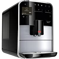 Melitta Caffeo Barista T F731-101 Kaffeevollautomat mit intenseAroma Funktion   One Touch Funktion   Touch und Slide Bedienung   2 Kammerbohnenauswahl   Automatisches Reinigungsprogramm   Silber