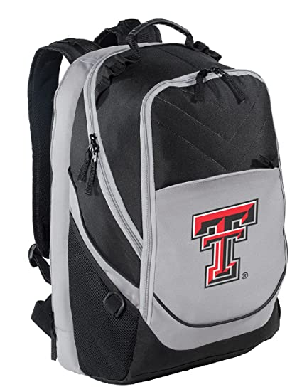 9a71de074e Image Unavailable. Image not available for. Color  Broad Bay Texas Tech  Backpack Texas Tech Red Raiders Laptop ...