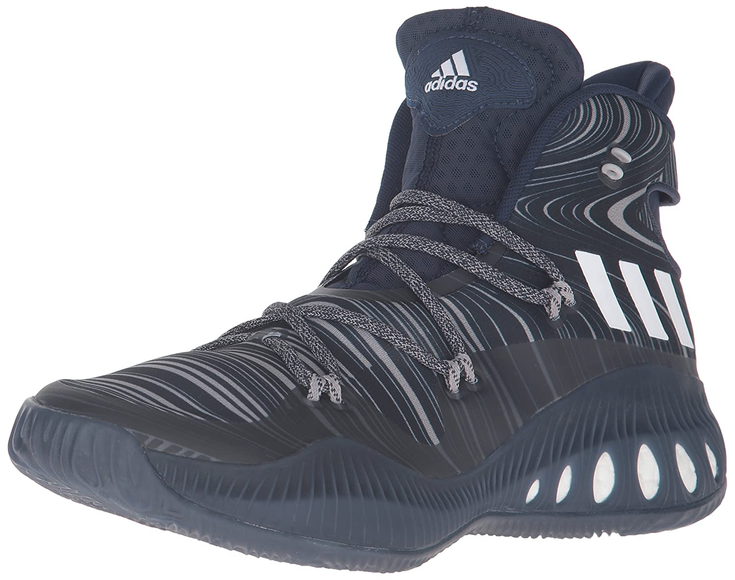 adidas Performance Men's Crazy Explosive Basketball Shoe B01C7WC6J6 5.5 M US|Collegiate Navy/White/Dark Navy