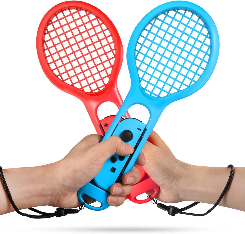 Keten Raqueta de Tenis para Nintendo Switch Pack de 2 Raquetas de ...