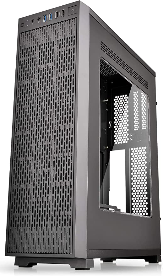 Amazon.com: Thermaltake Core G3 Black Slim Small Form Factor ATX Perforated Metal Front and Top Panel Gaming Computer Case 2.0 Edition with Two 120mm Front Fan Pre-Installed CA-1G6-00S1WN-A0: Computers & Accessories