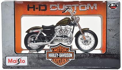 Buy maisto 2012 harley davidson xl 1200v seventy two 118 scale maisto 2012 harley davidson xl 1200v seventy two 118 scale model bike fandeluxe Choice Image