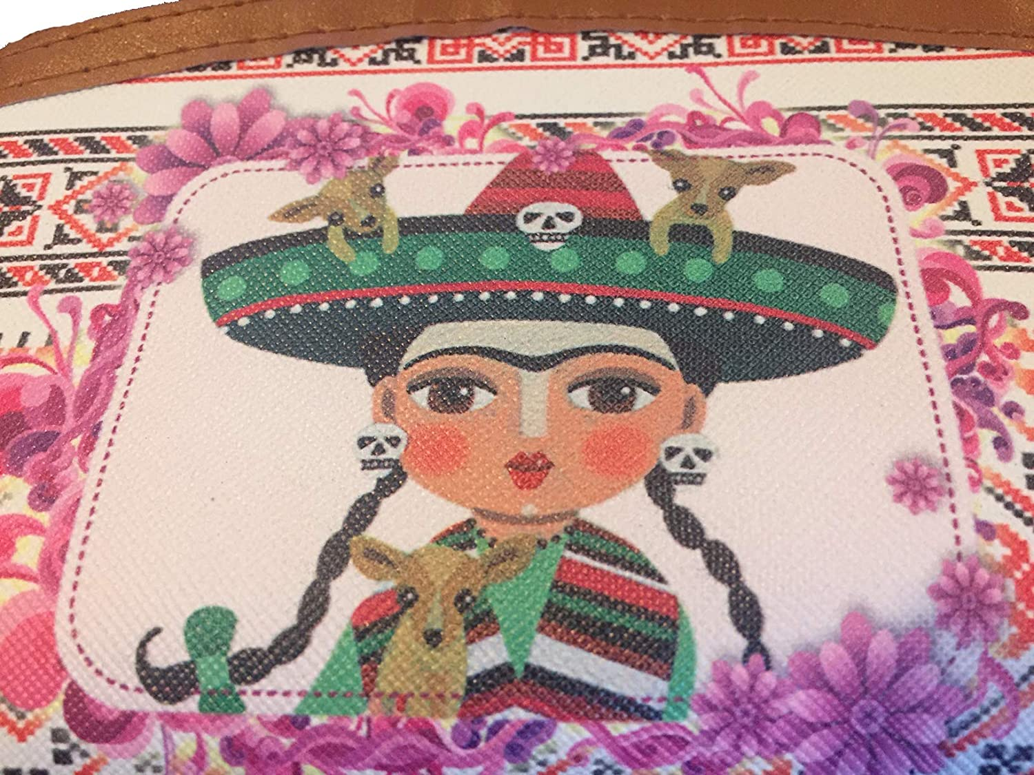 Frida Inspired Womens Purse Wallet and//or Matching Coin Purse