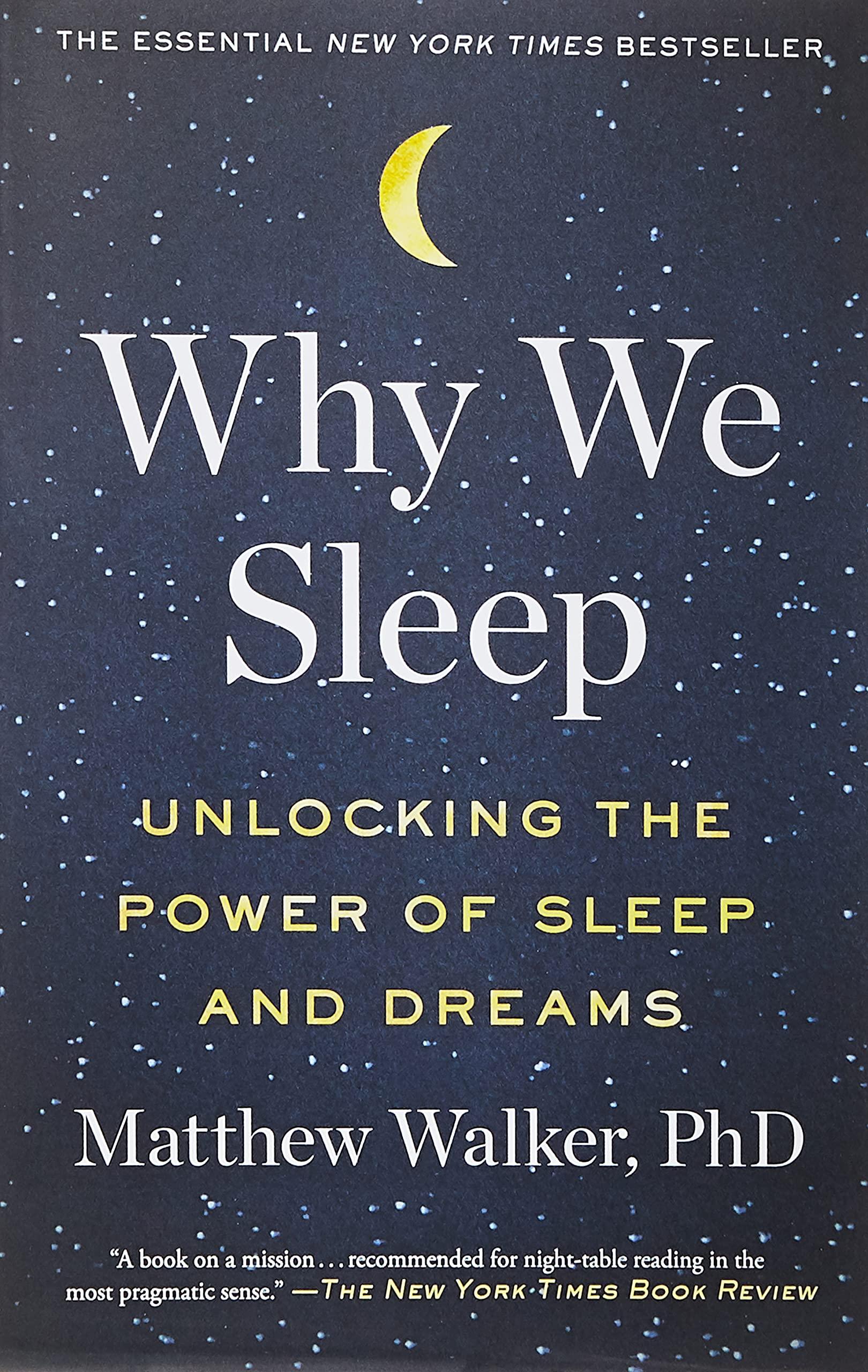 Top 10 Best why we sleep book matthew walker Reviews