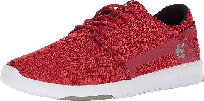Etnies Scout Sneakers Herren Schwarz Rot Weiß Grau
