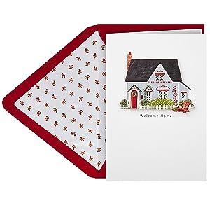 Hallmark Signature Handmade Housewarming Card (Welcome Home House)
