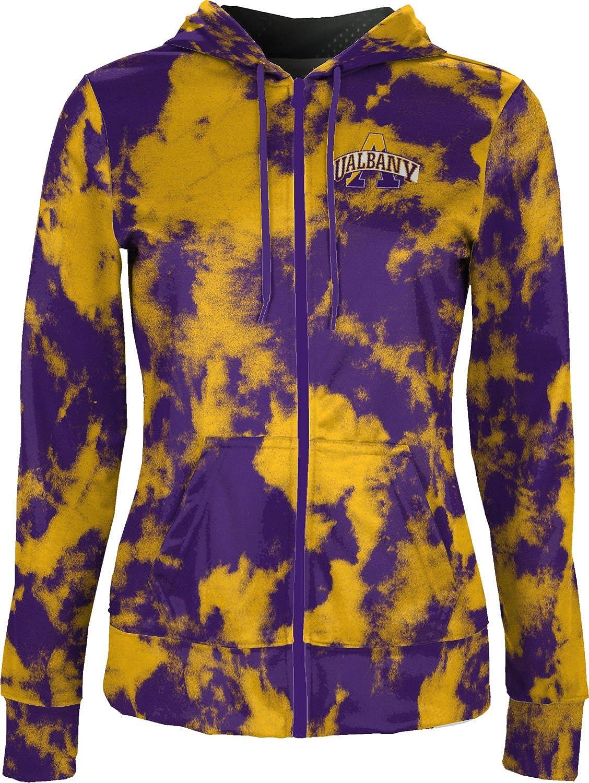ProSphere University at Albany Girls Zipper Hoodie Grunge School Spirit Sweatshirt