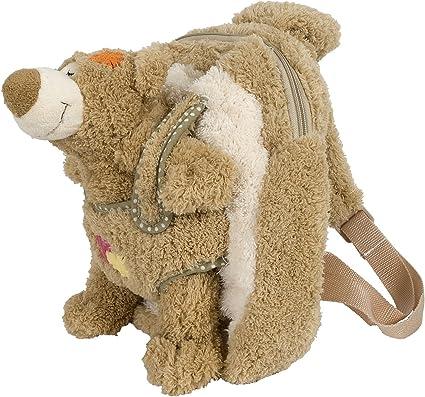 Nici Rucksack Grizzlybär Bär Criz Lee figürlich Plüsch Tasche Geschenk Neu 44073