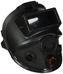 7600 Series Silicone Full Facepiece with Welding Attachment, 5 Strap Head Harness & Dual Cartridge Connectors, Size Medium/Large