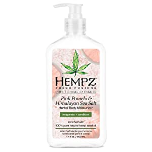 Hempz Pink Pomelo & Himalayan Sea Salt Herbal Body Moisturizer 17 oz.
