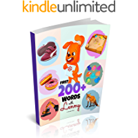 First 200+ Words with Lenny: A Marvelous Baby Book for Children Ages 0-3 Years Old to Learn Their First Words in a Funny…