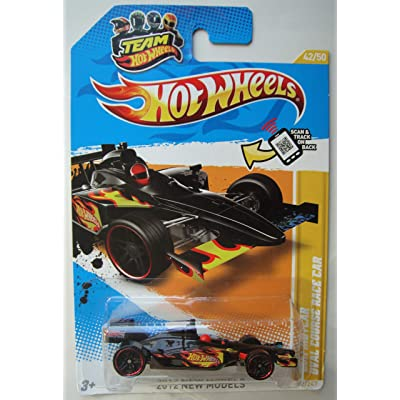 Hot Wheels 2012 New Models 42/50, Black 2011 IndyCar Oval Course Race CAR 42/247: Toys & Games