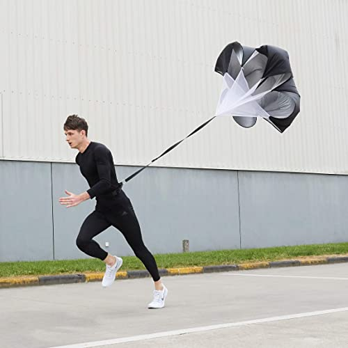 54-Inch Workout Speed Chute (Resistance Running Parachute) with Nylon Belt Picture
