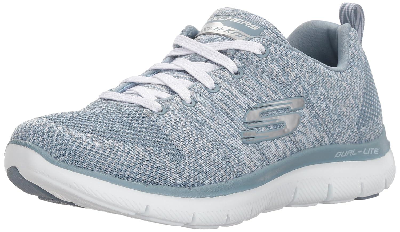 gris (Slate) Skechers Flex Appeal 2.0-High Energy, Baskets Basses Femme 38 EU