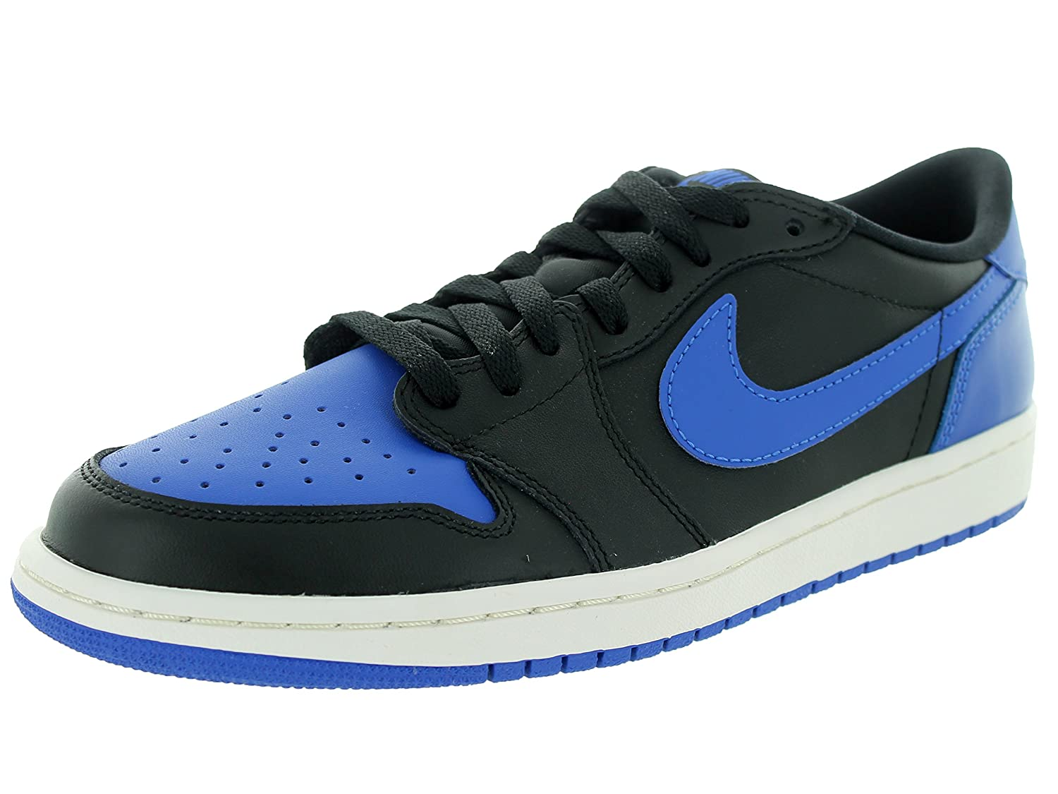 detailed look d8d82 6f587 ... associate degree.de 7b2df def41  top quality nike herren air jordan 1  retro low og turnschuhe talla 45 eublau schwarz schwarz
