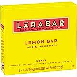 LARABAR Gluten Free Lemon Bar, 5 ct