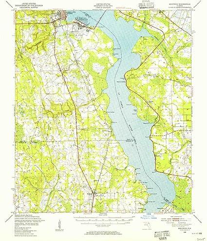 Amazon.com: YellowMaps Bostwick FL topo map, 1:62500 Scale, 15 X 15 ...