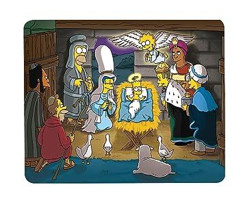 Alfombra de Ratón Simpson Bart Jesus NATIVITE chrestien ...